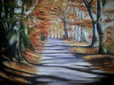Melanie Peacham - Autumn Glory - oil on canvas