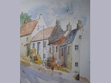 Fiona Robertson - Crail - watercolour