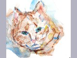 Isabelle Gow - Ginger - watercolour