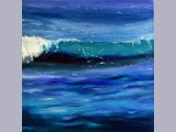 Angela Lawrence - Jewelled Seas - oil