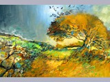 Sheena McCurrach - Autumn Haw - oil